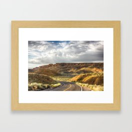 Golden Time in Arches Framed Art Print