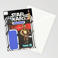 C3P0 See-Threepio Vintage Action Figure Card Stationery Cards