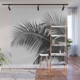 #03#B&W#Palm#tree Wall Mural