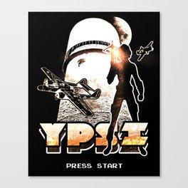 Ypsilanti Game Logo 1 Canvas Print