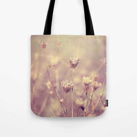 Winter Queen Anne's Lace  Tote Bag