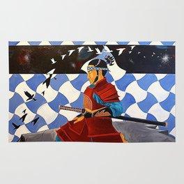 SAMURAI MEDITATION Rug