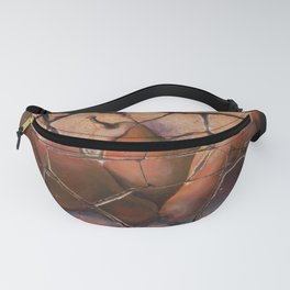The Pears Fresco With a Crackle Finish #Society6 Fanny Pack