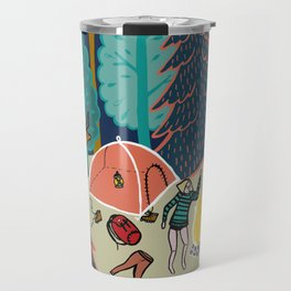 Welcome to Our Place in the Woods Travel Mug