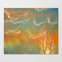 Dazzling lights III Canvas Print