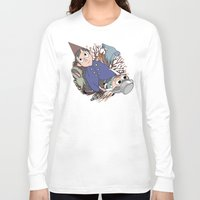 over the garden wall Long Sleeve T-shirts featuring Over the garden wall by podborski