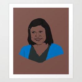 Kelly Rajnigandha Kapoor Art Print