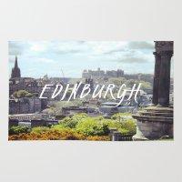 edinburgh Area & Throw Rugs featuring Edinburgh by KidoKido