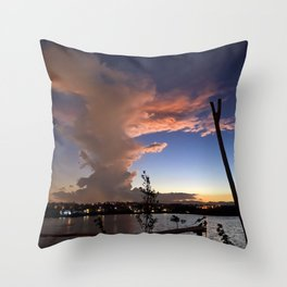 Pillar of Clouds Throw Pillow