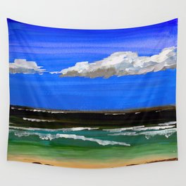Pacific ocean Wall Tapestry