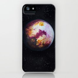 PLANET A. iPhone Case