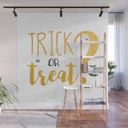Trick Or Treat? | Glitter Wall Mural