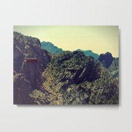 Cable Car Royal Gorge, Colorado Metal Print