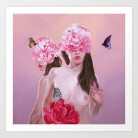 spring Art Prints featuring spring by Jen Mann