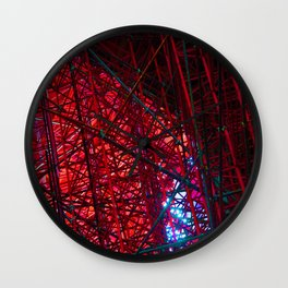 Infinite cathedral Wall Clock