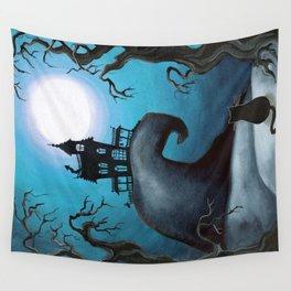 Halloween Night Wall Tapestry