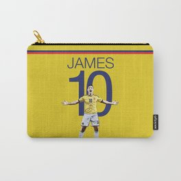 James Rodriguez 10 Colombia Soccer Print Carry-All Pouch