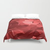 polygon Duvet Covers featuring Polygon 11 by Jambot