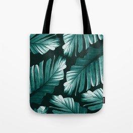 Tropical Banana Leaves Dream #2 #foliage #decor #art #society6 Tote Bag