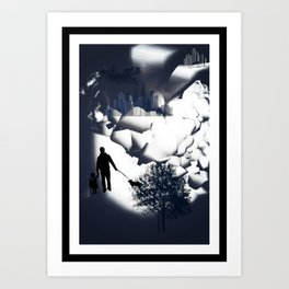 Gotham/Sin City Art Print