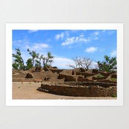Aztec Ruins New Mexico Art Print