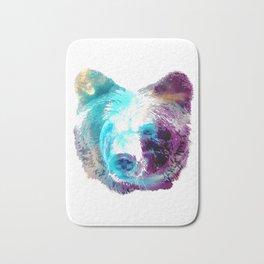 Space Bear Bath Mat