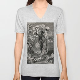The Voyage of the Sable Venus from Angola to the West Indies - W. Grainger Unisex V-Neck