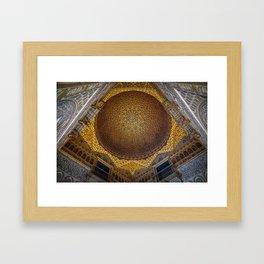 Hall of the Half Orange Dome Framed Art Print