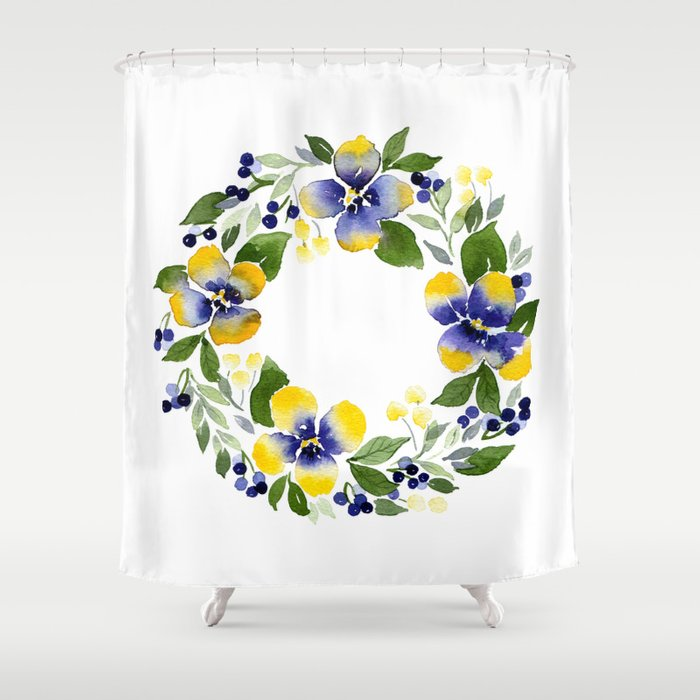 Youre Such A Pansy Shower Curtain