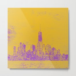 Manhatten Metal Print