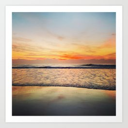 Sunrise Afterglow Art Print