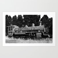 End of the line. Art Print