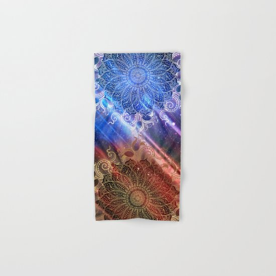 Mandala - Mighty fire & ice Hand & Bath Towel