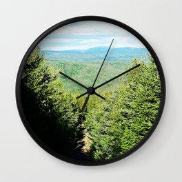 Mountain trail Wall Clock
