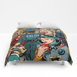It's a Woman's World Comforters