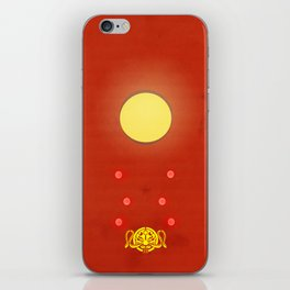 Crimson Typhoon iPhone Skin