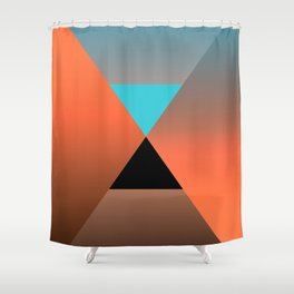 Triangle 4 Shower Curtain