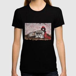 Caperucita Roja y el Lobo T-shirt