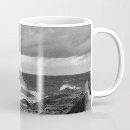 Storm at Five mile Point, Lake Superior Coffee Mug