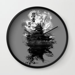 Infiltration: Ninja Design  Wall Clock
