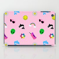 90s iPad Cases featuring 90s Stuff Print by MagicCircle