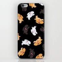 bunnies iPhone & iPod Skins featuring Bunnies! by Kashidoodles Creations