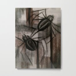 Tarantulas Metal Print