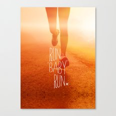 Run Baby Run Canvas Print