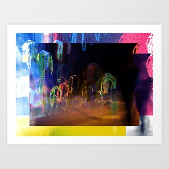 "Wednesday 9 January 2013: ""...want where to go..."" Art Print"