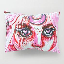 Red Dream Pillow Sham