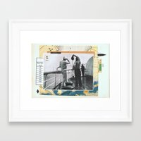 golf Framed Art Prints featuring Golf ——• by Aprile Elcich