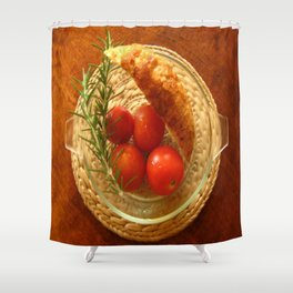 Home Grown.  Shower Curtain