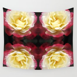 141 - Abstract Flowers Wall Tapestry