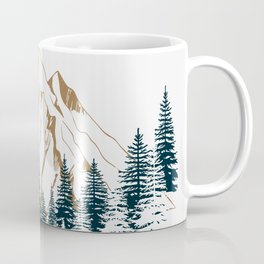 mountain # 4 Coffee Mug